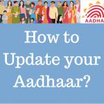 Aadhaar Card Update Process