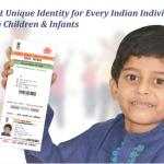 Aadhaar Card for Children and Infants