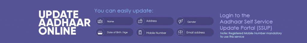 Update Aadhaar Online