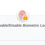 BioMetric Lock Unlock Settings at UIDAI Official Website