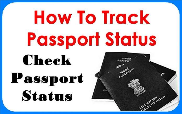 How to check Passport Status Online @ Rupeenomics.com