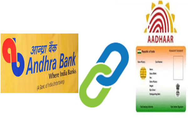 Link Aadhaar card to Andhra bank account