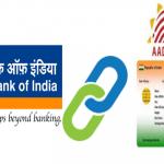 Link Aadhaar card to Bank of India account