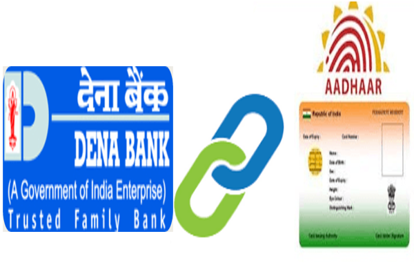 Link Aadhaar card to Dena bank account