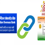 Link Aadhaar card to Indian Overseas bank account