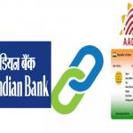 Link Aadhaar card to Indian bank account