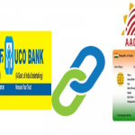 Link Aadhaar card to UCO bank account