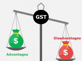 GST-advantages vs disadvantages