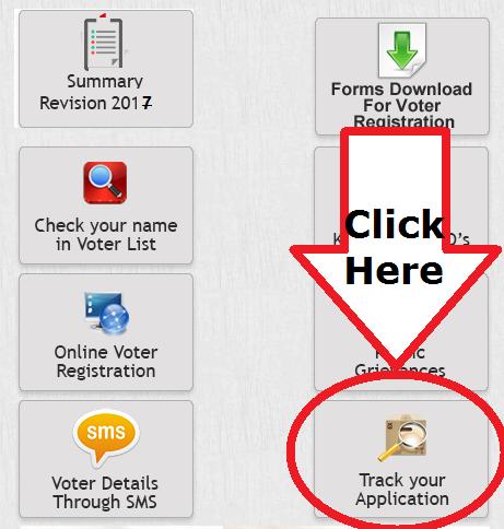 Haryana CEO Application status tracking