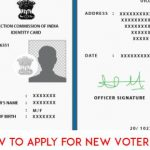 How to apply for New Voter ID Card
