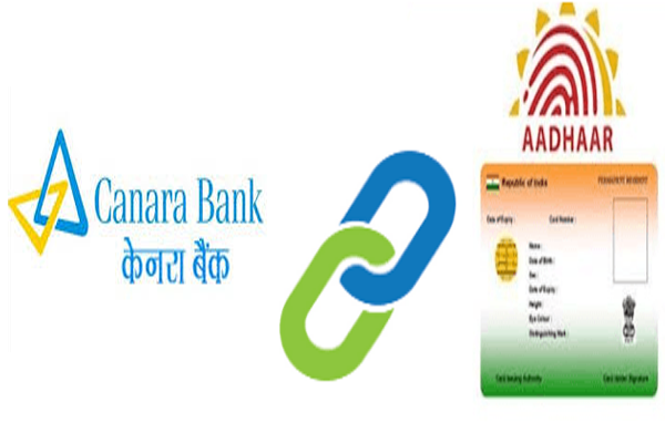 Link Aadhaar card to Canara bank account