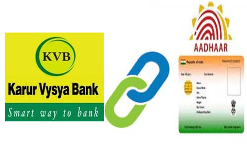 Link Aadhaar to Karur Vysya Bank