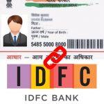 Link Aadhaar with IDFC Bank