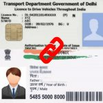 Linking Driving license with Aadhaar Card