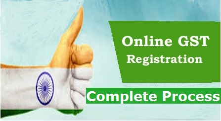 Online Registration of GSTIN