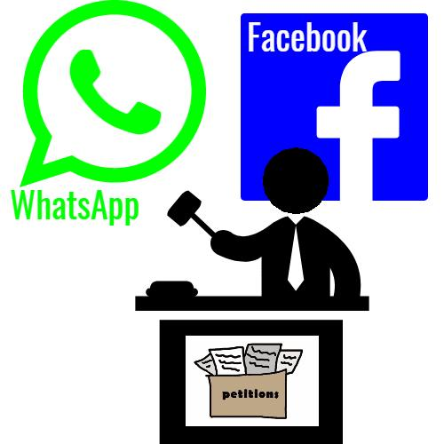 WhatsApp and Facebook to be petitioned By SC