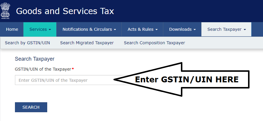 ways to verify GSTIN and GST Rates