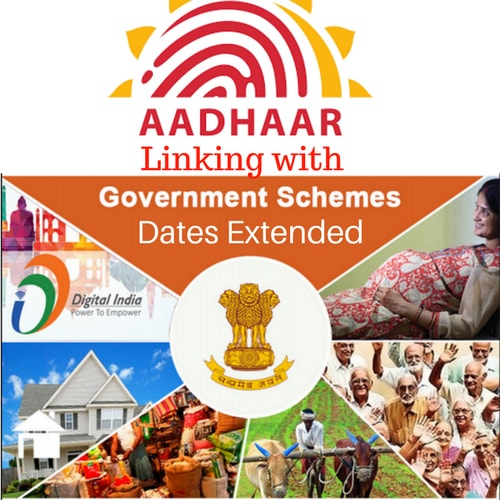 Aadhaar linking with Government Schemes