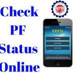 Check EPF Status Online