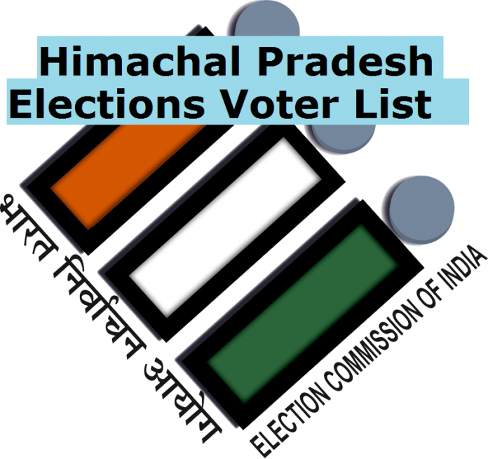 Himachal Pradesh Elections Voter List 2017