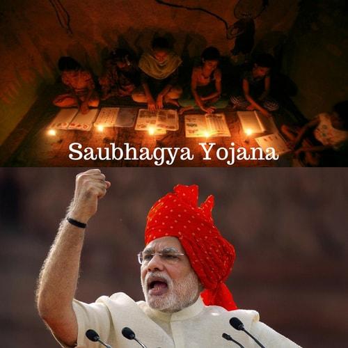Saubhagya Yojana - PMSBHGY