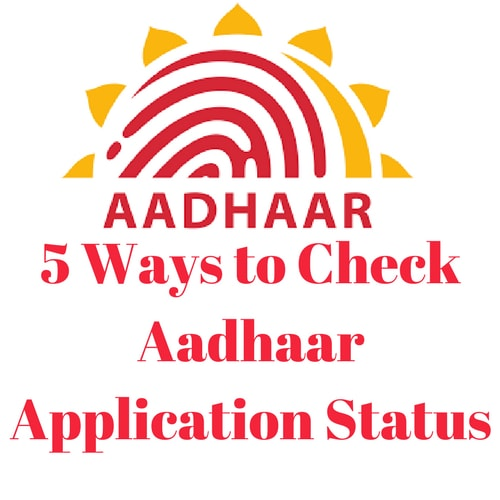 Ways to Check Aadhaar Status