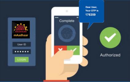 m - Aadhaar OTP Verification