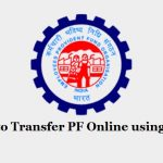 Transfer EPF using UAN