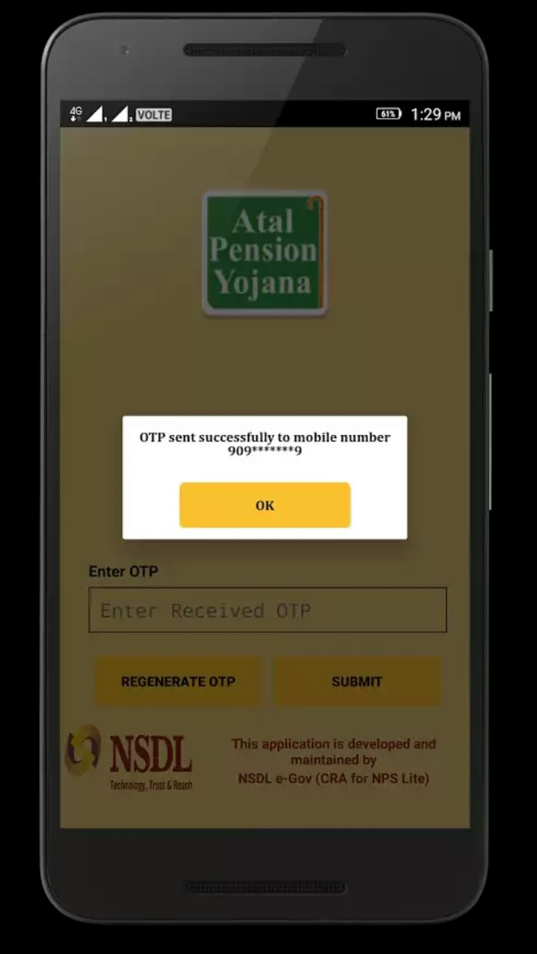 APY and NPS Lite App