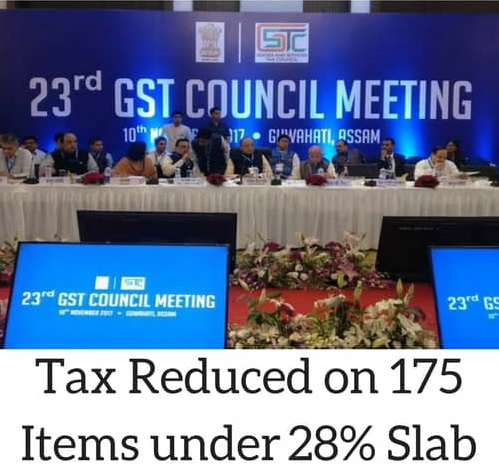 GST Rate Update on 23rd GST Council