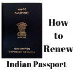 How to renew Indian Passport