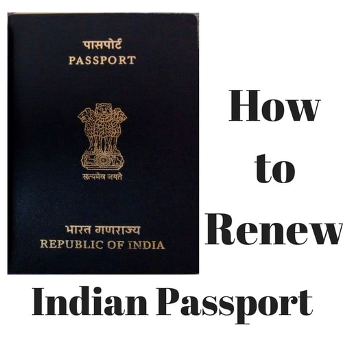 How to renew Indian Passport