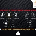 UIDAI Aadhaar Update Online and By Post
