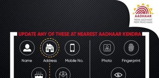 UIDAI Aadhaar Update Online and By Post