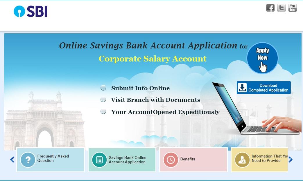 SBI Online Account