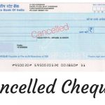 Cancelled Cheques