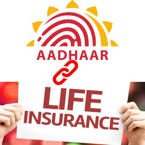 Insurance Policies linking with Aadhaar Cards