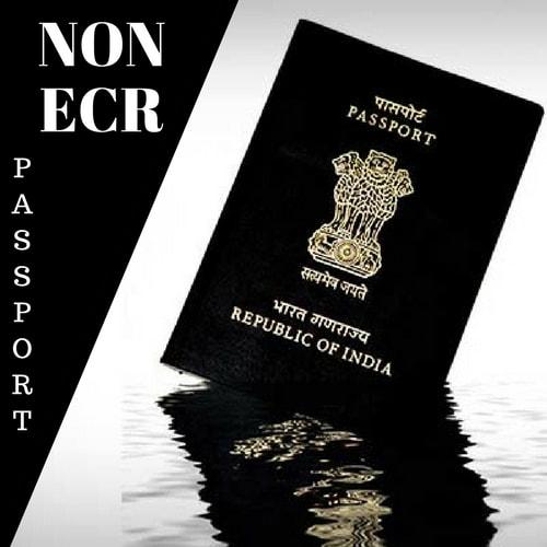 Non ECR Passport