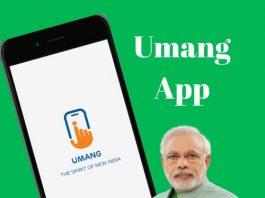 Umang App-Download,Register,Services