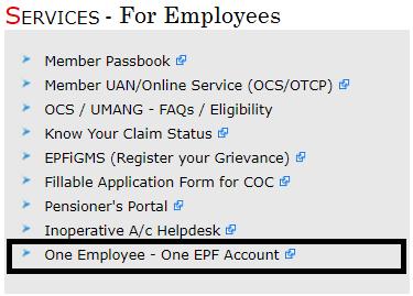 EPFO Services
