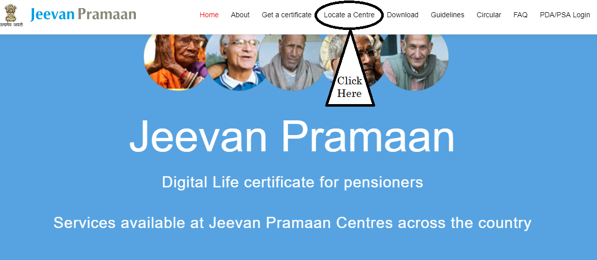 Jeevan Pramaan Official Website