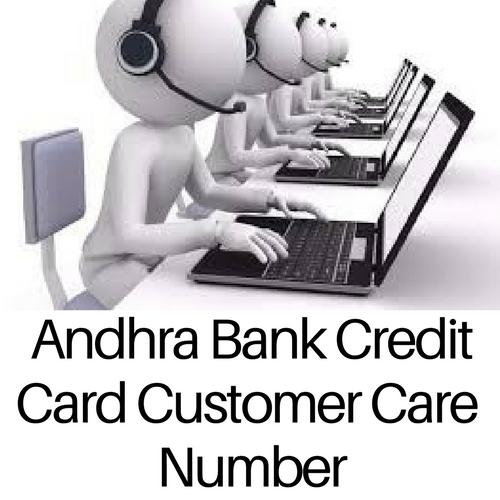 Andhra Bank Credit Card Customer Care Number