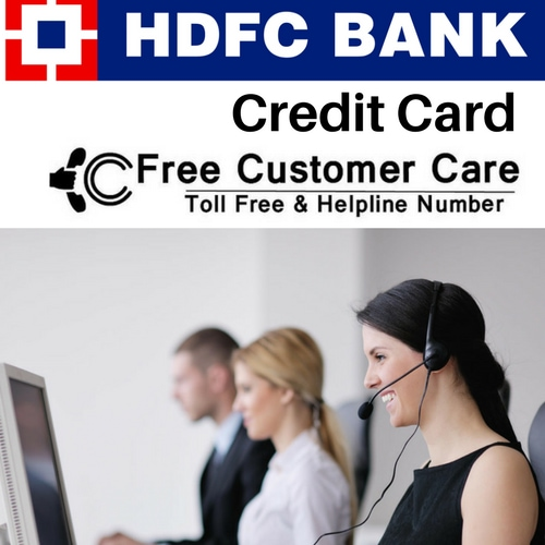 HDFC Credit Card Customer Care Number - Toll Free