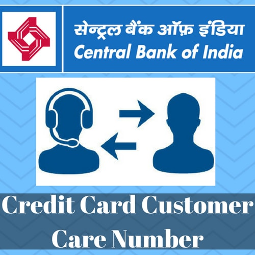 central bank of india customer care contact number