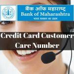 Bank of Maharashtra Credit Card Customer Care Number
