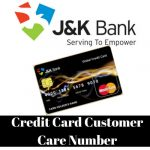 Jammu Kashmir Bank Credit Card Customer Care Number