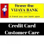 Vijaya Bank Credit Card Customer Care Number