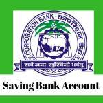 Corporation Bank Savings Account