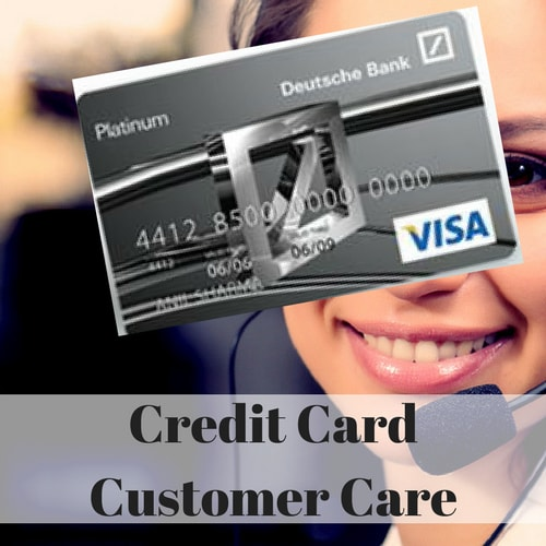Deutsche Bank Credit Card Customer Care