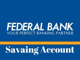 Federal Bank Savings Account